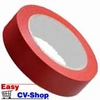 markeerlint isolatietape rood 15mm breed 1 rol = 10 mtr