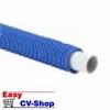 buis tc-alupex met mantel blauw 20 mm per meter