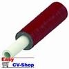 buis  tc-alupex met 6 mm isolatie rood 25 mm per meter
