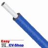 buis  tc-alupex met 6 mm isolatie blauw 25 mm per mtr