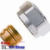 Heimeier onderblok knelset  3/4ec x 15x1mm cv-buis