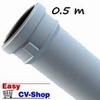 pp wit rookgasafvoerbuis mof/spie 80 500mm