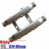 cv-verdeler 4 groeps staal verzinkt 4x1/2