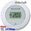 Honeywell round on/off wit kamerthermostaat T87G2014-E