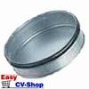 spiralo deksel met rubber 150mm (past in de buis)