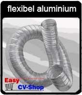 buis flexibel aluminium