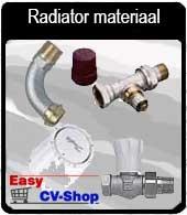 radiatoraansluitmateriaal