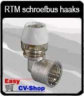 RTM schroefbus haaks