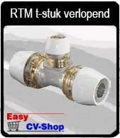 RTM t-stuk verlopend